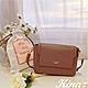 KINAZ 附束口袋掀蓋立體斜背小方包-濃醇氣韻-粉紅葡萄酒系列 product thumbnail 1