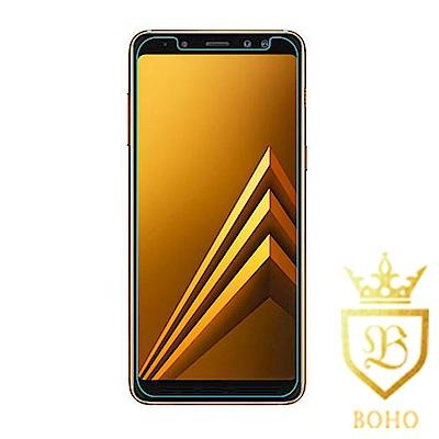 [BOHO]完全保護 鋼化玻璃保護貼 9H Samsung A8 (2018)