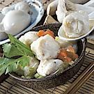 海瑞摃丸 杏鮑菇花枝丸(600g±10g/包,共三包)