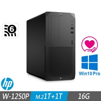 HP Z2 G5 Tower 工作站 W-1250P/16G/M.2-1TB+1TB/500W/W10P