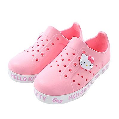 Hello kitty水陸輕便洞洞鞋 sk0590 魔法Baby