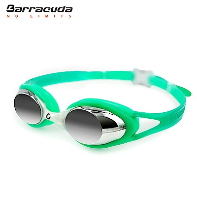 美國Barracuda兒童抗UV電鍍泳鏡-CARNAVAL#34710