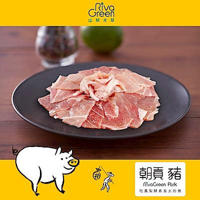 【山林水草】朝貢豬 前腿炒肉片5包 (220g/包) 小家庭經濟含運組