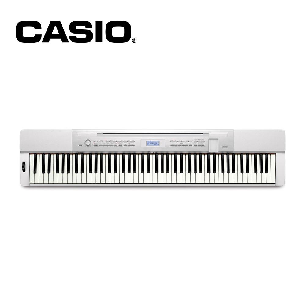 【福利品】CASIO PX350M-WE 88鍵電鋼琴 典雅白色款