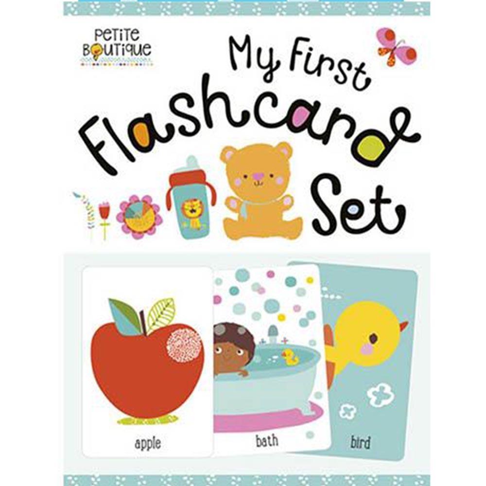 My First Flashcard Set 我的英文學習圖卡組