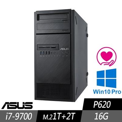 ASUS WS690T 工作站 i7-9700/16G/M.2-1TB+2TB/P620/500W/W10P