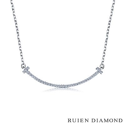 RUIEN DIAMOND 輕珠寶系列14分 14K金鑽石項鍊