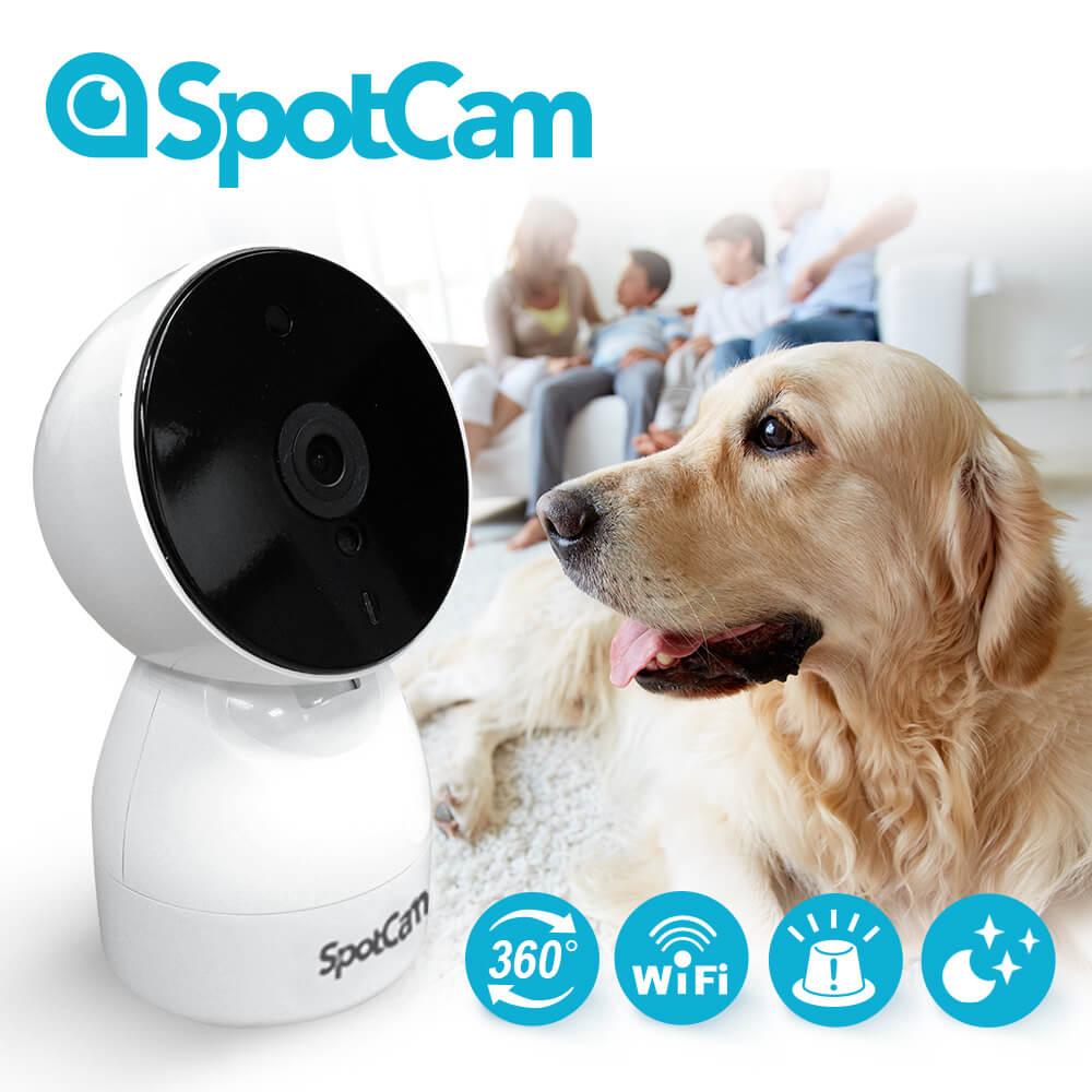 SpotCam HD Eva 全雲端可擺頭WiFi監控攝影機
