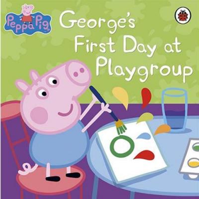 George s First Day At Playgroup 喬治豬與遊戲小組平裝本故事書