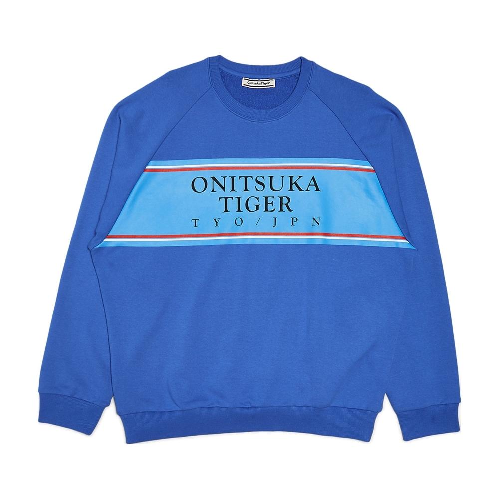 Onitsuka Tiger鬼塚虎-長袖上衣(藍)2183A440-443