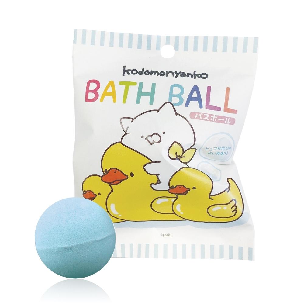 日本NOL-小貓(Line貼圖)入浴球Ⅱ-5入(附可愛公仔/聖誕禮物/交換禮物/泡澡)