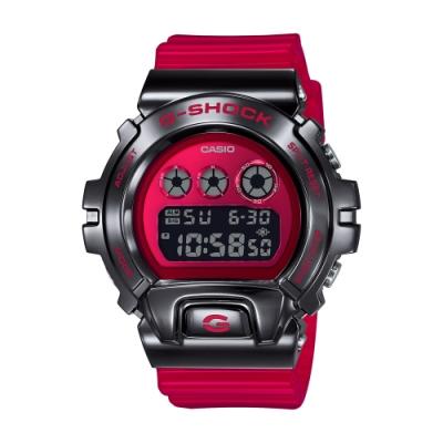 CASIO卡西歐 G-SHOCK 金屬錶圈 街頭嘻哈 GM-6900B-4_49.7mm