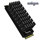 archgon亞齊慷 M.2 2280 SSD 散熱片組 HS-0130-K(黑)