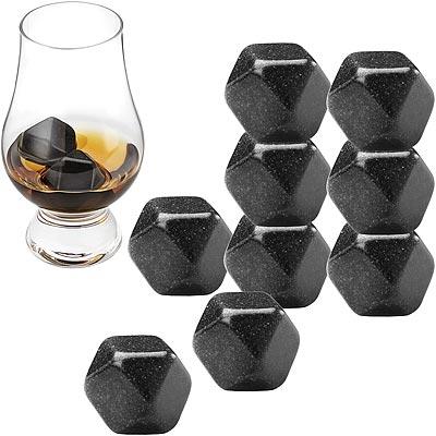 《FOXRUN》Outset威士忌冰石9入(黑)