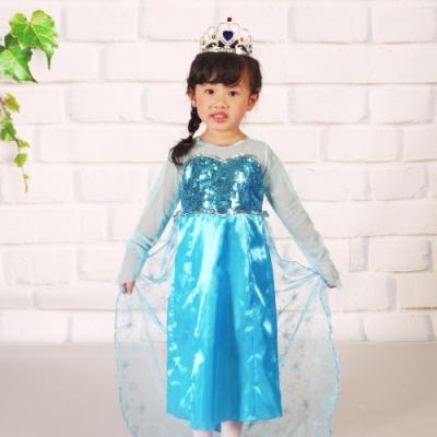 Angeljiejie-萬聖節童裝系列-愛爾莎公主童裝(M)