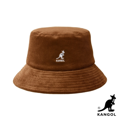 KANGOL-CORD 燈芯絨漁夫帽 -駝色