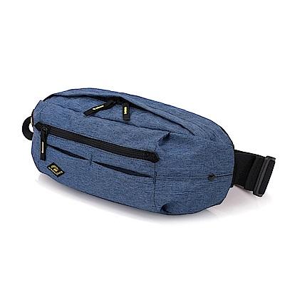 FREEKNIGHT  FK0816BU時尚腰包.胸包.側背包藍色