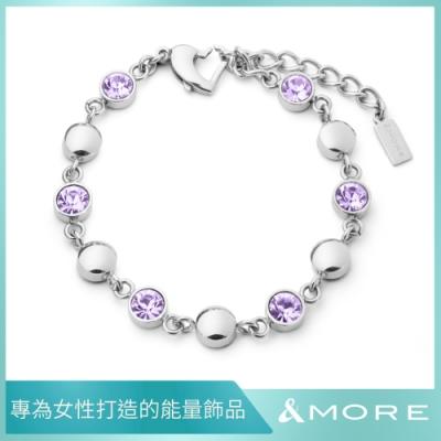 &MORE 愛迪莫 健康手鍊 GALAXY shining 星河 璀璨紫 (鍺 遠紅外線 負離子.禮盒包裝)