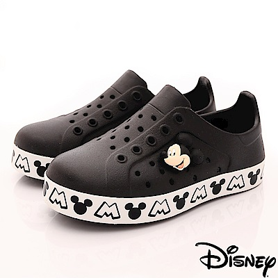 迪士尼童鞋 米奇洞洞休閒鞋款 ON18137黑(中小童段)