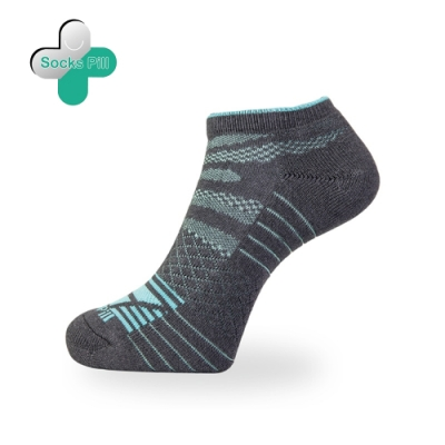 SocksPill機能除臭抗菌足弓運動短襪 (M碼22-25cm) 除臭就找膠囊襪 抑菌纖維99% 除臭襪