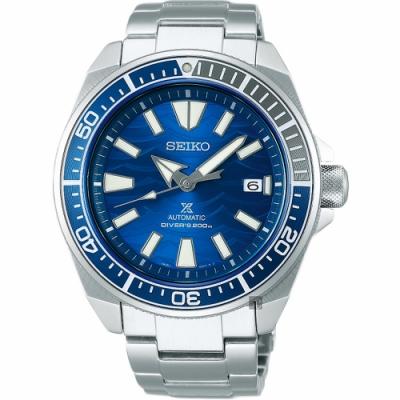(無卡分期6期)SEIKO Prospex 200米愛海洋特別版大白鯊機械錶(SRPD23J1)
