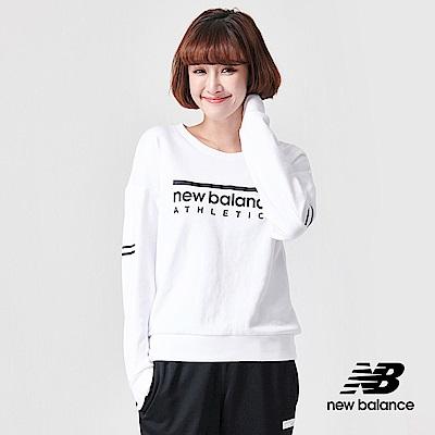 New Balance 長袖T恤_AWT91551WT_女性_白色
