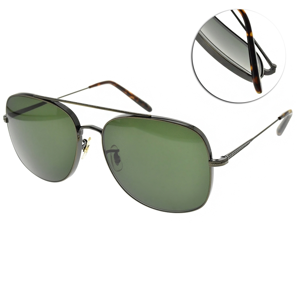 OLIVER PEOPLES 太陽眼鏡 TARON 雙槓大方框款/復古灰銅  #OV1272S 528471