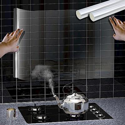 Incare 一拉即貼-自黏式廚房透明防油房屋貼(2入組)