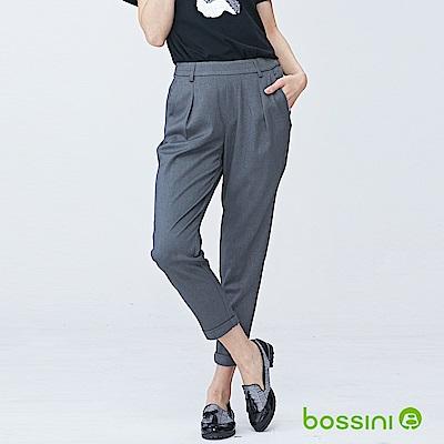 bossini女裝-彈性修身褲02霧灰