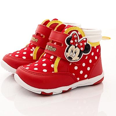 迪士尼童鞋 米妮短靴款 TH15203紅(中小童段)