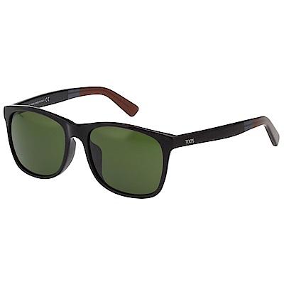 TOD'S 中性款 太陽眼鏡(黑色)TO191F
