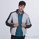 ROBERTA諾貝達 時尚型男 內裡舖棉夾克外套 灰色