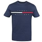 Tommy Hilfiger FLAG LOGO棉質短袖T恤  (深藍)