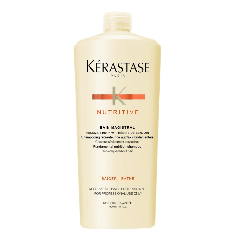 KERASTASE 卡詩 安昔香洗髮乳1000ml含壓頭(安息香滋養髮浴)