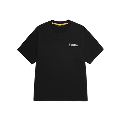 NATIONAL GEOGRAPHIC SEMI OVERFIT ACTIVITY GRAPHIC T-SHIRT 男女短袖T恤-炭黑-N212UTS909198