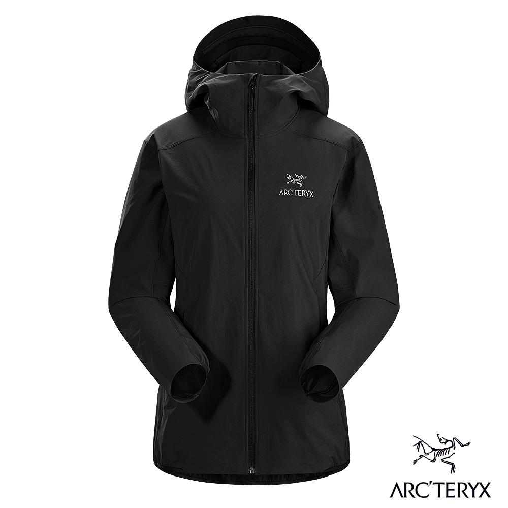 Arcteryx 始祖鳥 女 Gamma SL 防潑水 軟殼外套 黑