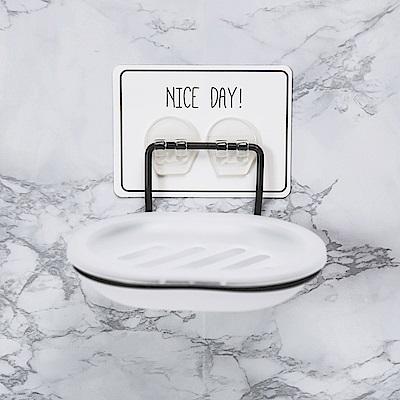完美主義 肥皂架/掛架/可拆洗/烤漆/無痕貼-13X10X6cm