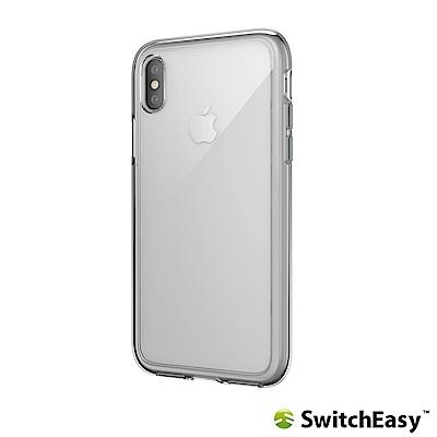 SwitchEasy Crush iPhone Xs/X 吸震防摔保護殼-透明