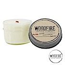 美國 WOODFIRE 復古純手工木芯香氛 NO.009 野山蜂蜜 鋁蓋玻璃罐 113g