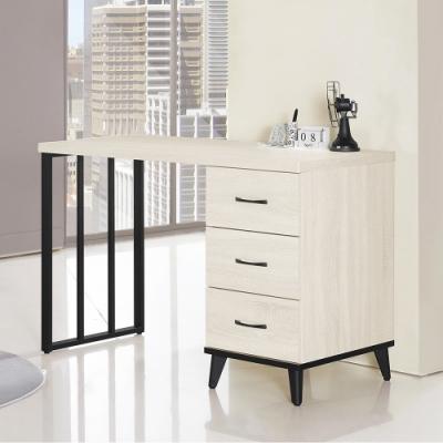 Boden-奧利爾4尺三抽書桌/工作桌-121x56x81cm