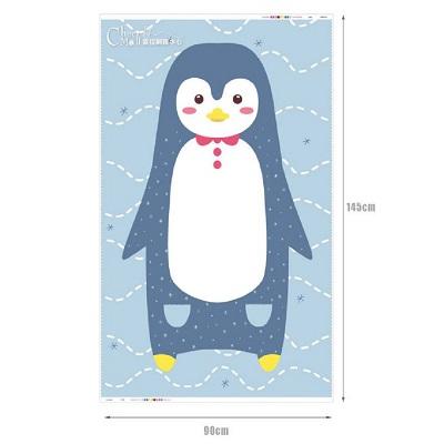 韓國進口圖案布 超萌動物系列-極地企鵝 萬用圖案布料