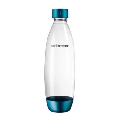 Sodastream 水滴型專用水瓶 1L 1入(金屬天空藍)