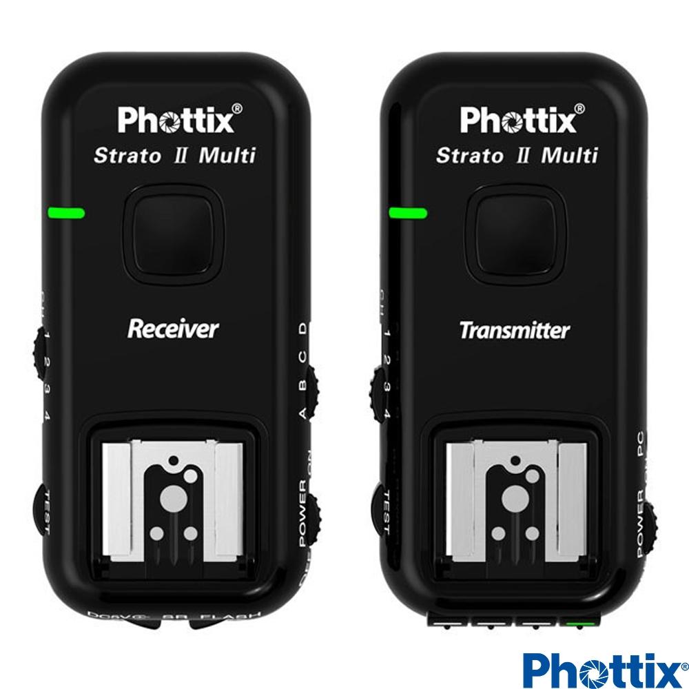 Phottix Strato II 2.4GHz無線閃燈觸發器(含接收器)-Nikon