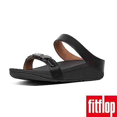 FitFlop SHELLSTONE雙帶涼鞋黑色