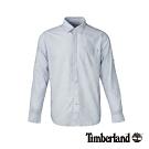 Timberland 男款淺藍色修身彈性長袖襯衫|A1WT8