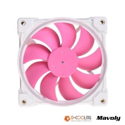 ID-COOLING 粉紅限定款一體式水冷 ZF-12025-PINK 幻彩ARGB散熱風扇