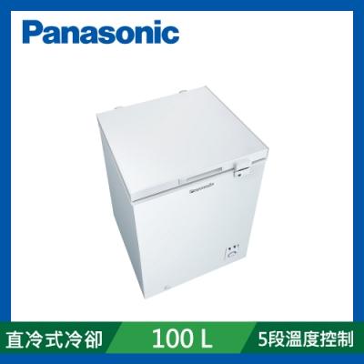[館長推薦] Panasonic國際牌 100公升 臥式冷凍櫃 NR-FC100-W 白色