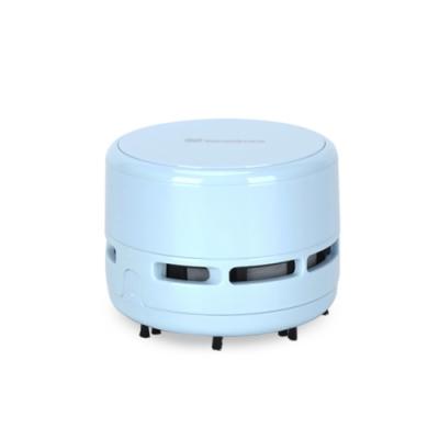 桌上型迷你吸塵器 (藍)