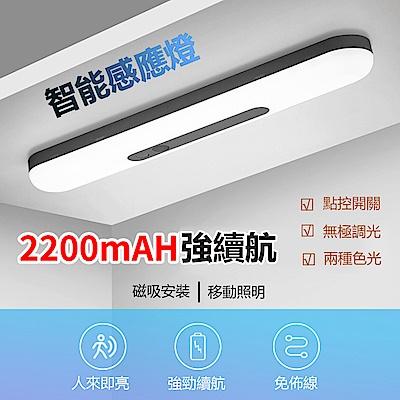 hald LED智能人體感應燈 磁吸式 無線USB充電 暖光 小夜燈 臥室/衣櫃/樓梯/浴室壁燈