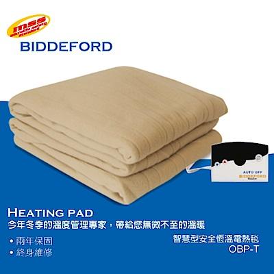 美國BIDDEFORD智慧型定時雙人恆溫電熱毯 OBP-T